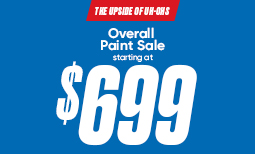 Summer Paint Sale: $699 Overall Paint Sale Coupon
