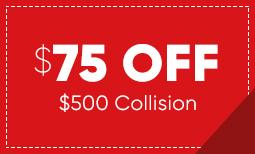 $75 Off $500 in Collision Repair Coupon