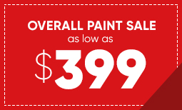 $399 Overall Paint Sale Coupon