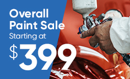 Tax Season Promo: $399 Overall Paint Sale Coupon