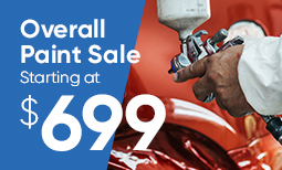 Tax Season Promo: $699 Overall Paint Sale Coupon