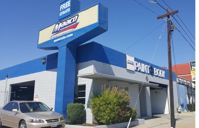 auto body shop signal hill