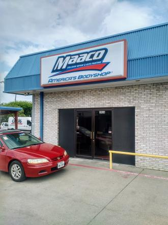 ... On Location At Maaco Collision Repair U0026 Auto Painting, A Auto Body Shop  In Irving ...