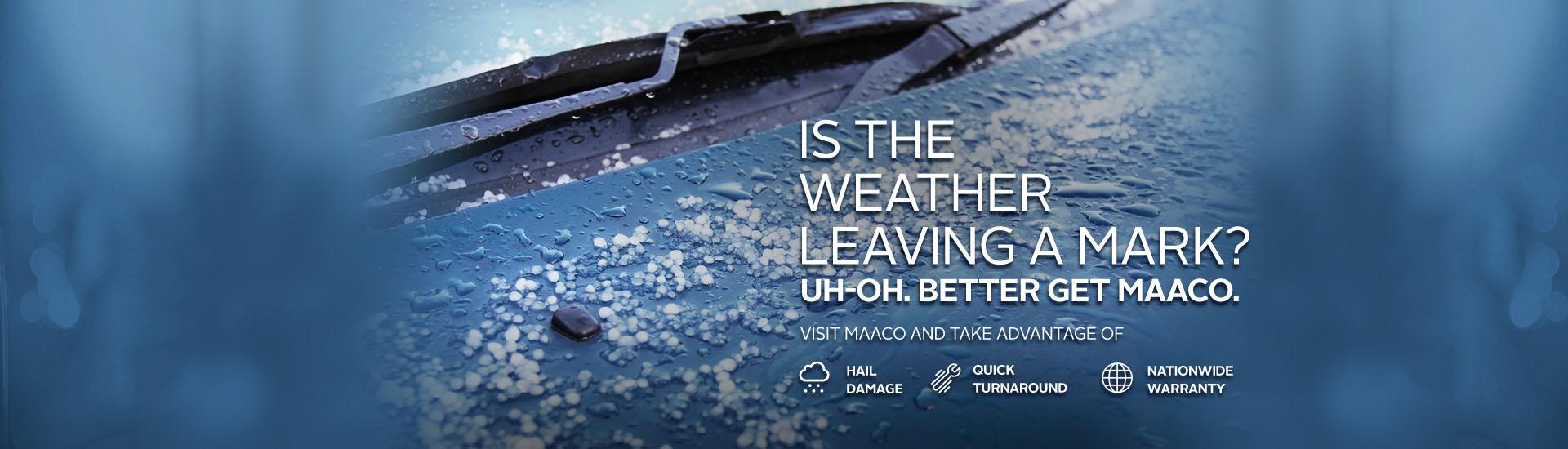 Maaco: Hail damage repair