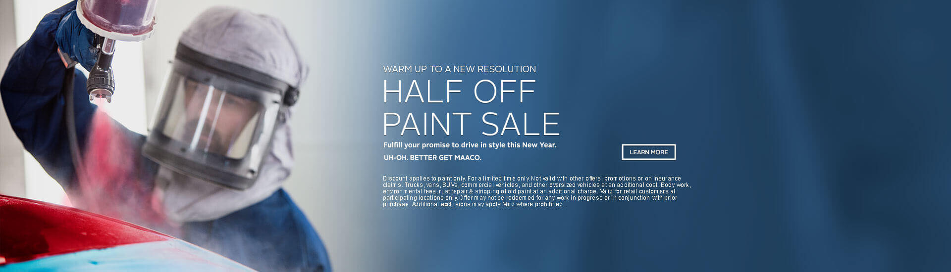 Maaco: Half Off Paint Sale Promotion