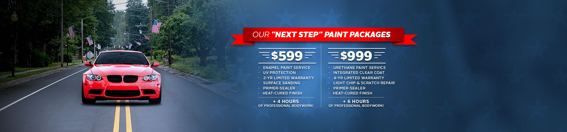 Maaco: Next Step Paint Packages