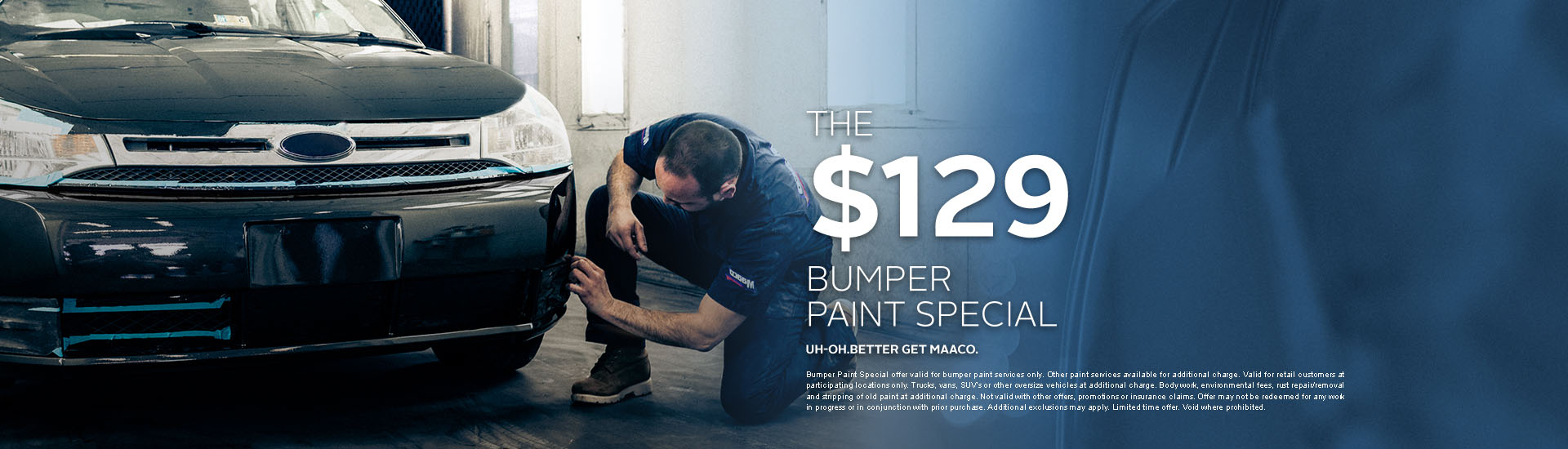 Maaco: Bumper Paint Special Starting at $129